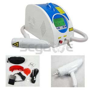 Top Quality New Nd Q SWITCH YAG LASER PIGMENT EYEBROW TATTOO REMOVAL MACHINE N1