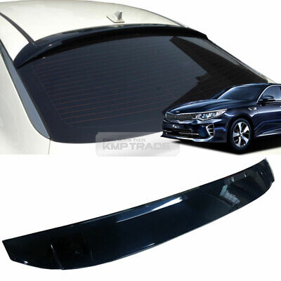 44_Smoke Rear Window Roof Lip Spoiler Visor Molding K998 For KIA 16-19 Optima K5