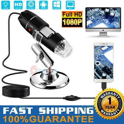 1000x Magnifier 8led Usb Digital Microscope Camera For Pc Laptop Android Phone