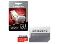 Samsung 128GB Evo Plus Micro SD Card (SDXC) UHS-I U3 + Adapter -