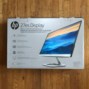 HP 27es *Brand new* IPS LED Monitor