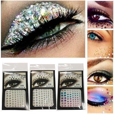 Cheap Makeup Kits (cheap 81x Eye Gem Kit Acrylic Resin Crafts Body Face Painting Festival)