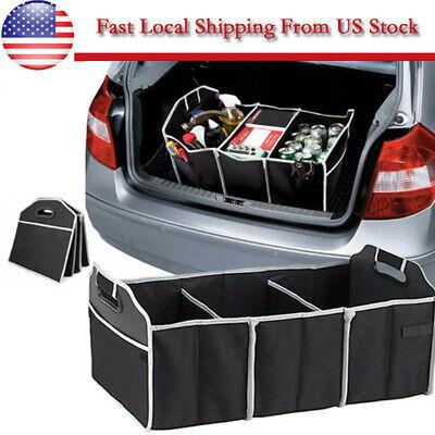 Cargo Organizer Foldable Multi-purpose Storage Box Bag Case Car Trunk RV SUV