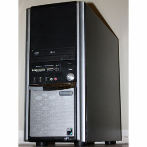 TouchSystems Desktop Gaming PC AMD Dual-Core 3.1GHz 8GB RAM 320G