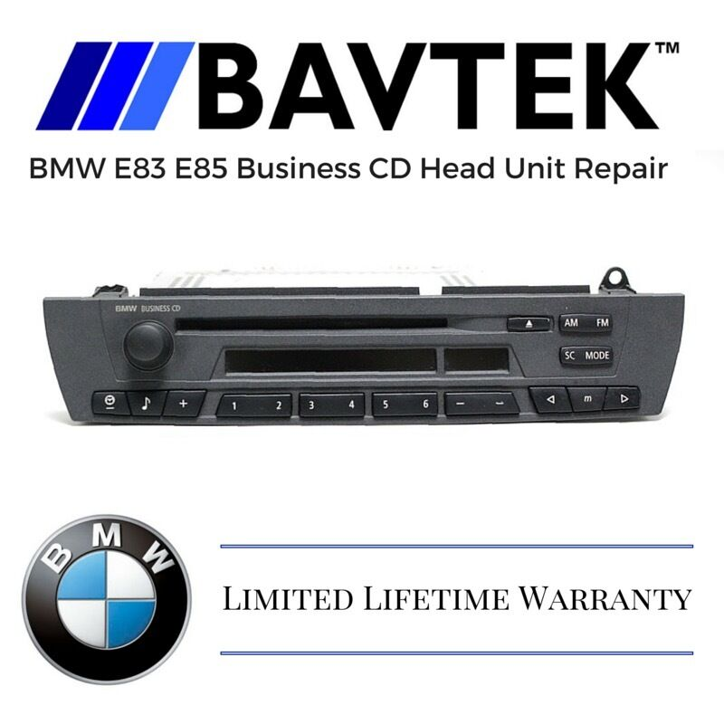 BMW E83 E85 X3 Z4 2.0 2.5 3.0 Business CD Head Unit Repair Service