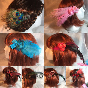 one of a kind Hair Fascinators
