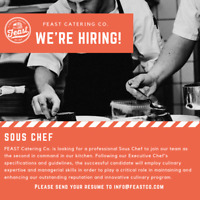 Servers,Cooks and Sous Chef