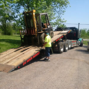 heavy duty tilt and load flatbed