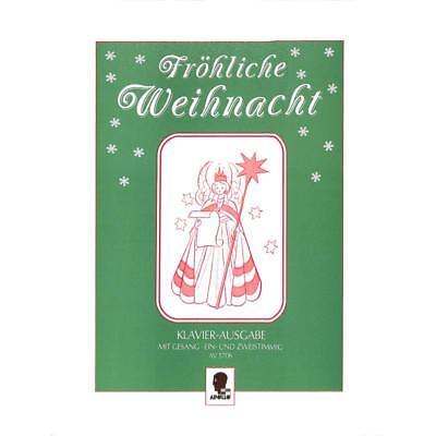 Fröhliche Weihnacht für Gesang und Klavier AV 5706