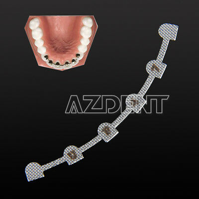 Dental Orthodontic Lingual Retainer Bonding Splits With Mark 10pcspack Azdent