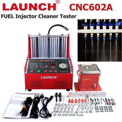 LAUNCH CNC602A Car Auto Ultrasonic Fuel Injector Cleaner Tester English Panel