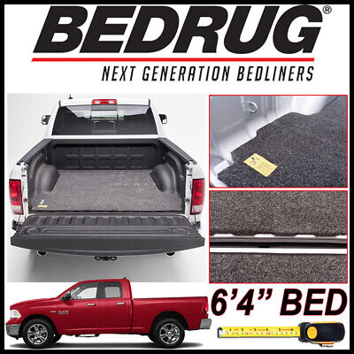 """BEDRUG Classic Bed Mat Truck Liner fits 2002-19 Dodge Ram w/ 6'4"""" BED w/o Rambox"""