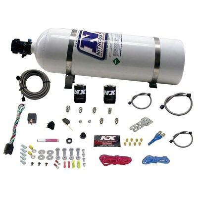 Nitrous Express 20915 15 UNIVERSAL SYSTEM FOR EFI ALL SINGLE NOZZLE APPLICATION