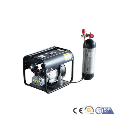 1.5kw 2hp High Pressure Paintball Tank Air Compressor Pump 4500psi Home Portable