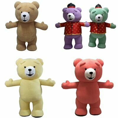 Inflatable Teddy Bear Mascot Costume Suit Cosplay Party Game Dress Outfit Adults - Teddy Bear Costume Adult