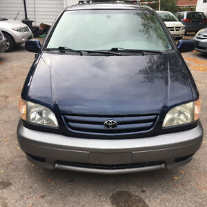 2003 TOYOTA SIENNA LE NO ACCIDENT/LOW KM/2YRS WARRANTY INCL
