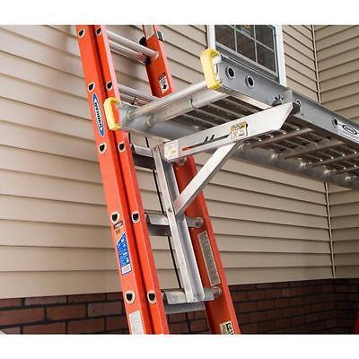 Werner Ac10-20-03 3 Rung Aluminum Ladder Jacks For Stages