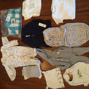 Various baby boy clothes  NB-6 months