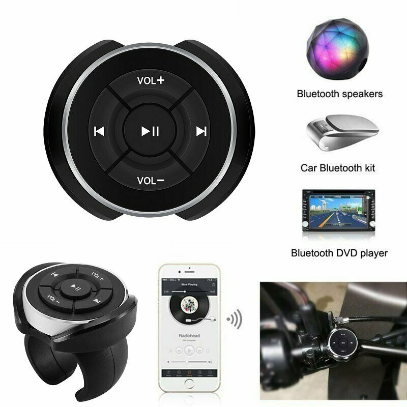 iMars BT-005 12M Car Bluetooth Media Button Series Remote Control Smartphone Aud