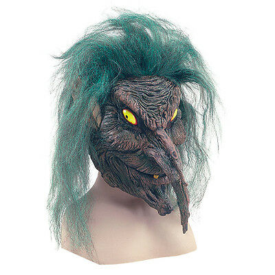 Baum # Kobold Unheimlich Grün Ghost Erwachsene Maske Kostüm Halloween