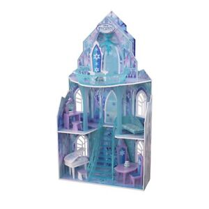 KidsKraft Disney Frozen Ice Castle Palace Dollhouse with Acc.