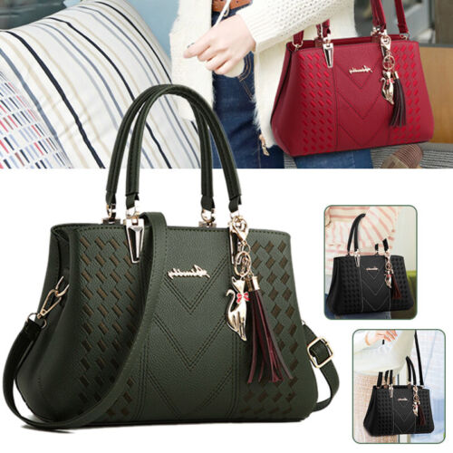 Damenhandtasche Elegant Schultertasche Leder Tasche Umhängetasche Shopper Bag
