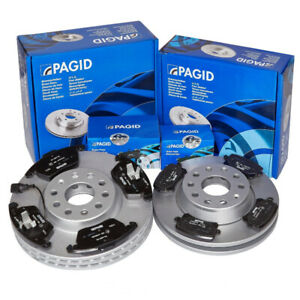 PAGID   OEM    QUALITY   FRONT AND REAR BRAKE KIT FOR E90 330I