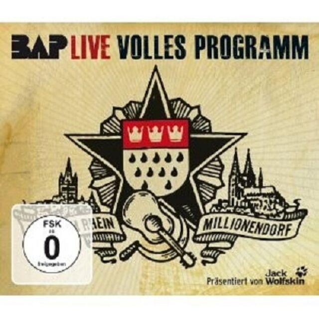 """BAP """"VOLLES PROGRAMM"""" 3 CD NEU BEST OF"""