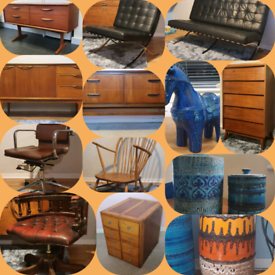 Bristol Wanted vintage teak sideboards, chest and more.