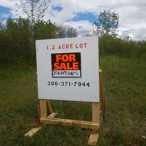 1.2 acre lot for sale in pike lake ..sask