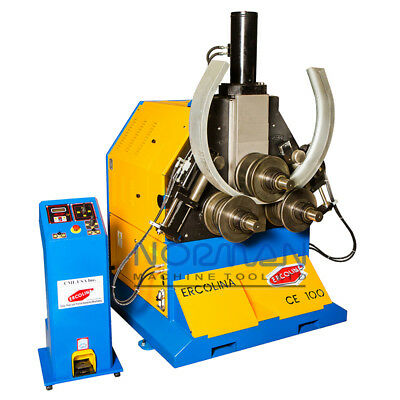 Ercolina 4 X 12 Hydraulic Programmable Angle Roll-section Bender With 3-ax...