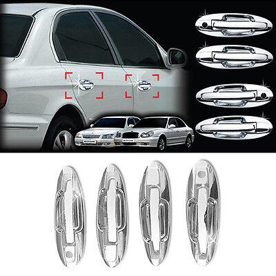 Chrome Side Door Catch/Handle Cover Molding Trim for HYUNDAI 1999-2005 EF Sonata
