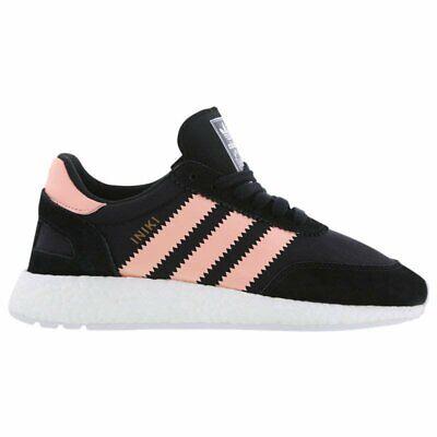 Adidas INIKI RUNNER Black Pink 5.5US Women Shoes BB0000 Running Boost 100%LEGIT