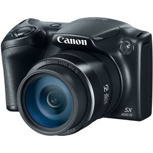 *new appareil photo Canon PowerShot 16MP 30x Optical Zoom Digita