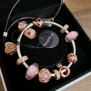 100%Authentic Pandora Rose Gold