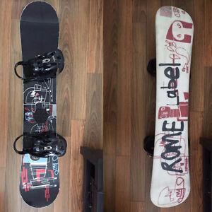 Kit de snowboard complet!