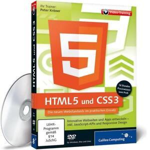 HTML 5 und CSS 3 von Peter Kröner (2013)