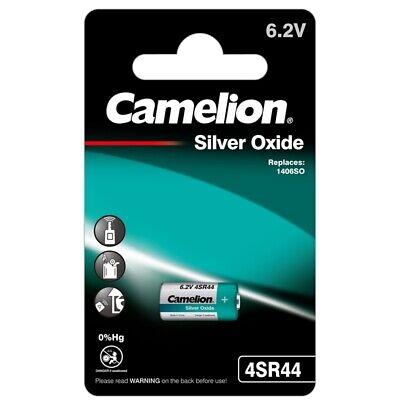 1 x 4SR44 Foto-Batterie 6,2V V28PX PX28 544 SilberOxid Blister Camelion