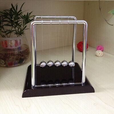 Newtons Cradle Office Desk Toy Kenetic Education Gravity Balance Balls