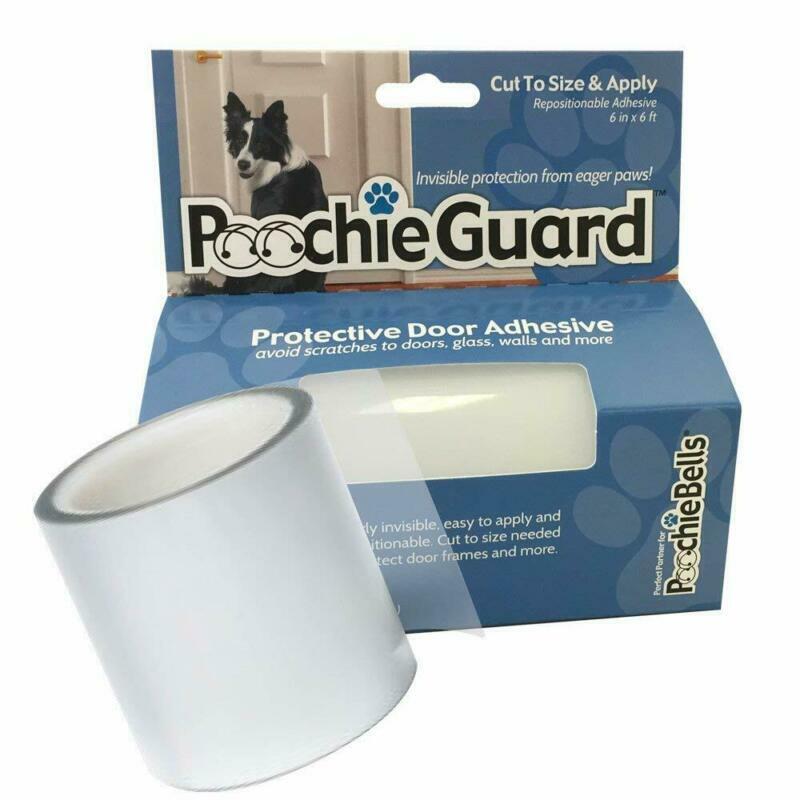 Pet Scratch Protect Door Shield Attachment Dog Cat Screen Fu