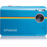 Blue polaroid, never used