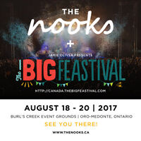 The Nooks + THE BIG FEASTIVAL