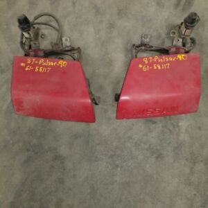 1987-1990 Nissan Pulsar headlamps Left and Right front