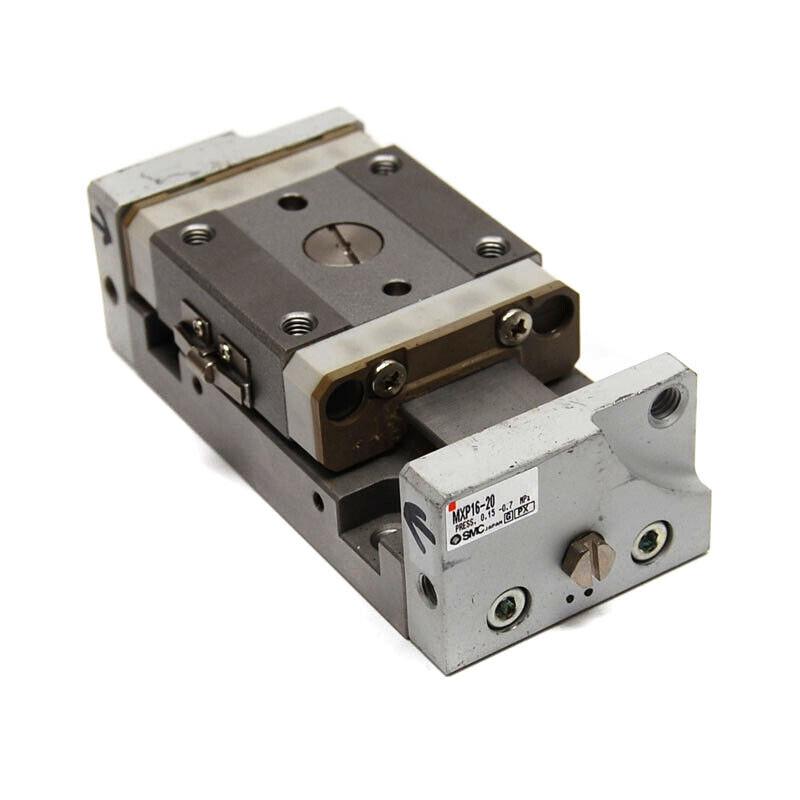 SMC Pneumatics MXP16-20 Linear Guide Cylinder Slide Table 250psi Air Bearing