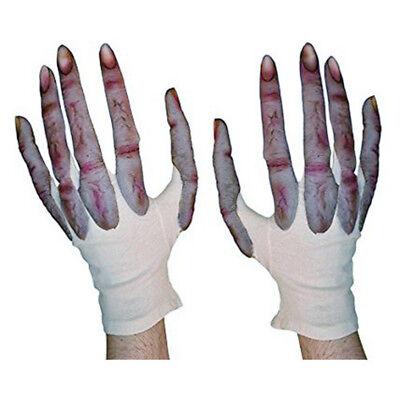 Alien Hands Costume (Alien Long Fingers Hands Monster Action Adult Costume Gloves Made in)