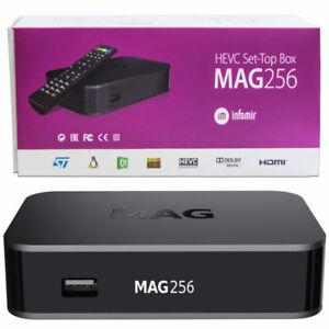 ORIGINAL INFOMIR MAG256W1(BUILT-IN WFI)- IPTV SetTop-Box