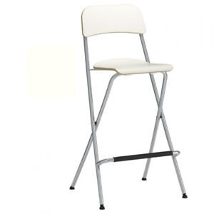 Two FRANKLIN bar stools from IKEA - white