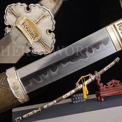 Handmade Clay Tempered T10 High Carbon Steel Tachi Japanese samurai sword KATANA