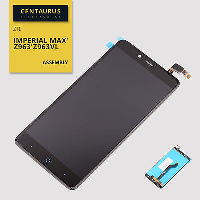 Duo Display - For ZTE Imperial MAX Duo LTE Z963VL Z962BL Touch Screen Digitizer LCD Display