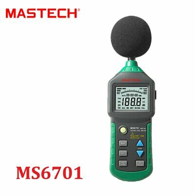 Mastech Ms6701 Digital Sound Level Meter Decibel Tester With Rs232 Interface
